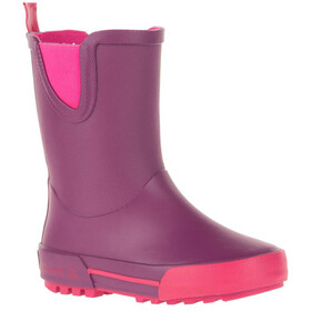 Kamik Rainplay rubberlaarzen Kinderen, dark purple/rose